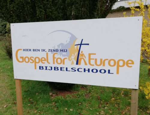 Evangeliseren met Bijbelschool Gospel for Europe