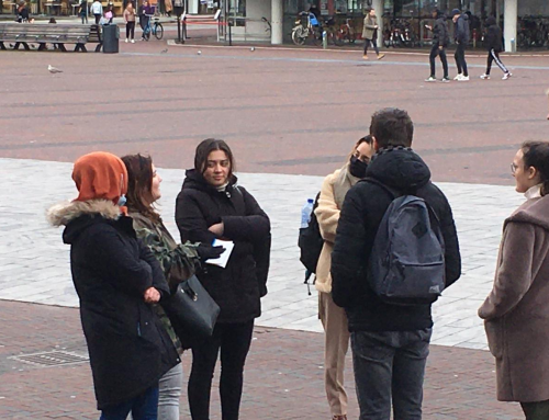 Evangeliedag Rotterdam met studenten Gospel Mission