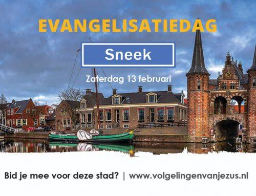 Aankondiging Evangelisatiedag Sneek