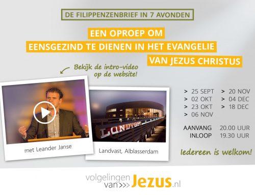 Een serie over de Filippenzenbrief in Alblasserdam!