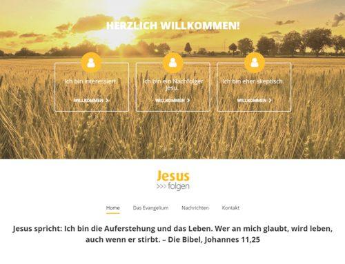 Duitse evangelisatie website gepubliceerd
