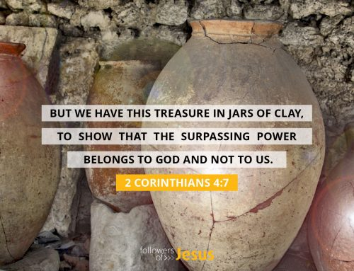 To show that the surpassing power belongs to God!